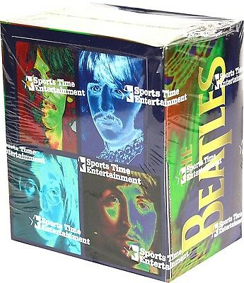 The Beatles Trading Cards (1996 Sports Time) - Sealed Box of 36 Packs