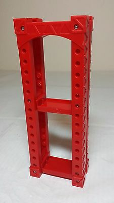 Red support I - Wooden Train Track Risers - Support Girder