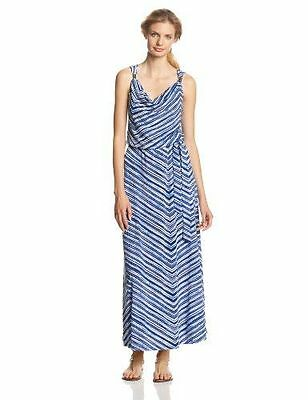 Calvin Klein Women S Printed Maxi Dress Large