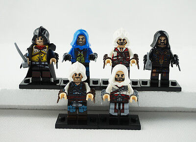 Minifigures Assassin's Creed Movie Cormac Dorian Kenway Firenze Building Toys