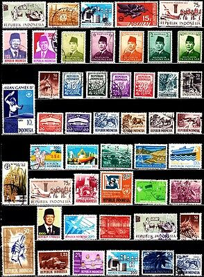 Very Nice Indonesia Stamps Collections lot (used)