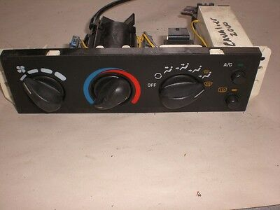 2000-2002  Chevy Cavalier  A/c And Heater Control  Oem