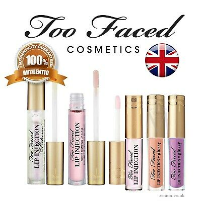 Too Faced Lip Injection  lip plumper or Extreme long term 4g or 1.5g ORIGINAL!