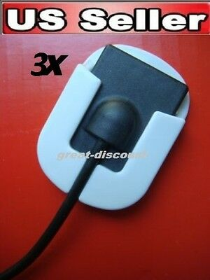 3X New Digital Universal Dental X-Ray Sensor Holder In White Color