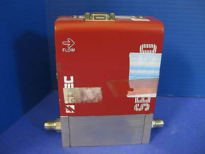 STEC SEC-4550MO Mass Flow Controller, 40 SLM, Gas: N2, Used