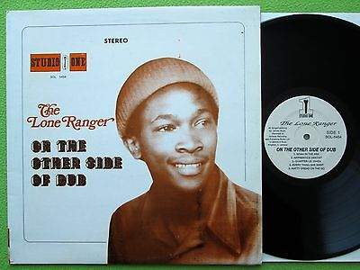 The Lone Ranger - On The Other Side Of Dub LP USA Studio One SOL 1127