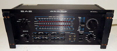 SAE 2100L vintage stereo preamplifier