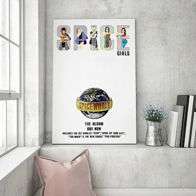 "Huge original Spice Girls promo poster – Spiceworld - 60"" x 40"""