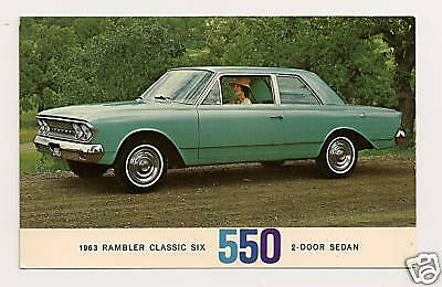 1963 Rambler Classic Six 550 2-Door Sedan