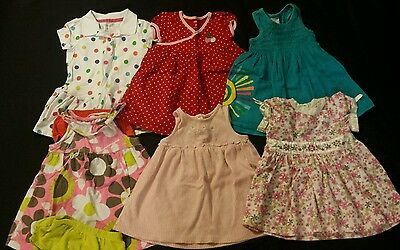 Baby Girl Size 18 months Spring and Summer Dress Lot