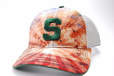 sports shoes 76f87 0018d Michigan State Spartans The Game NCAA Brilliant Mesh Back Snapback Cap Hat