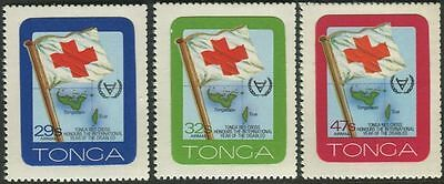 Tonga 1981 SG782 International Year of Disabled Persons Airmail set MNH