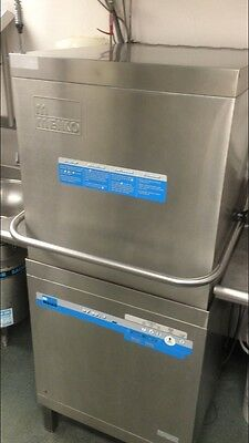 Meiko DV 80.2 commercial dishwasher kitchen equipment high temp hood style