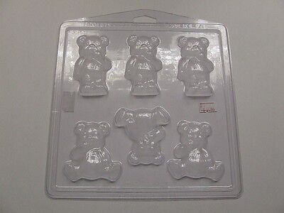 Teddy Bear Soap Mould / Mold**Soapmaking**