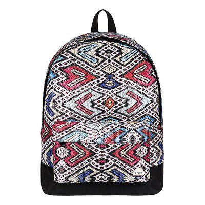 ROXY NEW WOMENS Black Backpack Sugar Baby BNWT