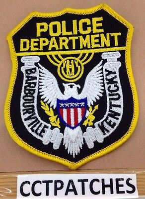 Barbourville, Kentucky Police Shoulder Patch Ky