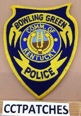 Bowling Green, Kentucky Police Shoulder Patch Ky