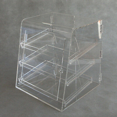 Acrylic Pastry Cabinet / Cake Muffin Cabinet / Food Display Case with Front Door