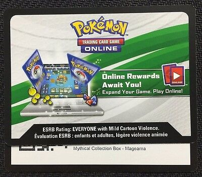 Pokemon Mythical Collection Magearna Box TCGO Online Code - Fast!