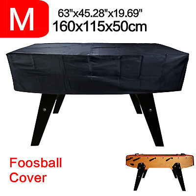 Foosball Billiard Table Cover Outdoor Waterproof Rain Snow Light Elastic Band