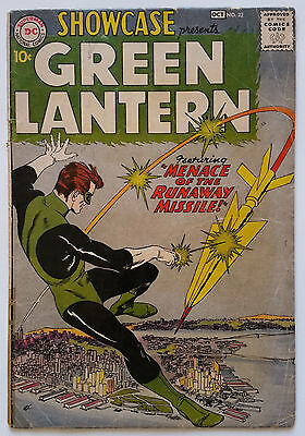 Showcase 22 First Appearance Of Green Lantern (Sep-Oct 1959 DC) CGC/CBCS Ready