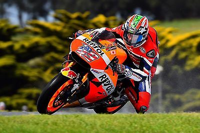 Nicky Hayden - Repsol Honda 2016 - A1/A2/A3/A4 Photo/Poster Print - Phillip Isl