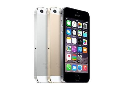Apple iPhone 5S 16GB - Gold /Silver /Grey - Network Unlocked Average Condition