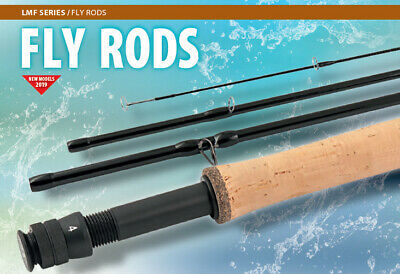 Loomis and Franklin French leader fly rods 9 foot 6 to 11 foot  2/3 weight