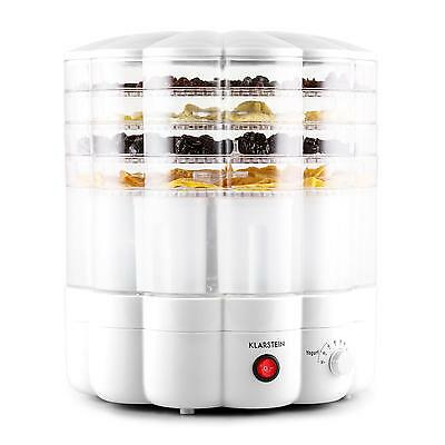 Klarstein Yofruit White Multi Functional Fruit & Vegetable Dryer & Yogurt Maker