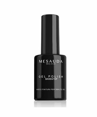 MESAUDA GEL POLISH BASE & TOP Smalto Semipermanente 14 ml
