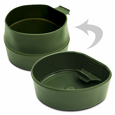 Original Wildo Fold A Cup Cup Olive 600ml Folding Cup Mug Outdoor Dishes