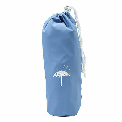 Brolly Bag with Drawstring Closure - Cornflower Blue