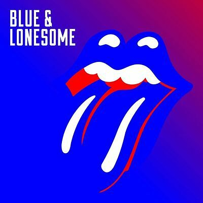 THE ROLLING STONES 'BLUE AND LONESOME' Double VINYL LP (2016)