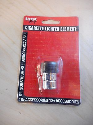 Streetwise Universal Element In Car Cigarette Lighter Replacement Cig Fag  NEW