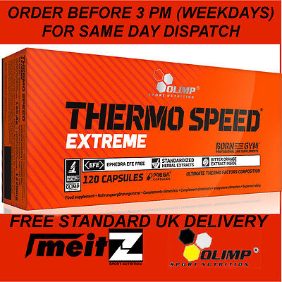 Olimp Thermo Speed EXTREME Strong Fat Burner 5- 120 Caps Ephedrine Free