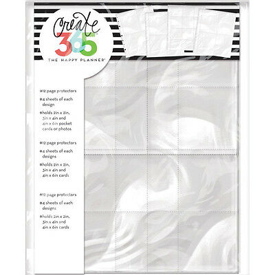 NEW Classic Happy Planner Assorted Page Protectors Photo Sleeves MAMBI