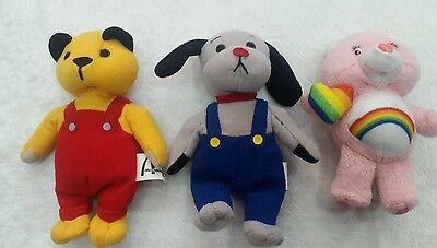 """SOOTY & SWEEP - 6"""" MCDONALDS BEANIE TOYS - Plush Soft Collection Care Bear"""