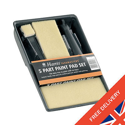 Harris Taskmaster 400 5 Part Pad Set Foam Painting Tray Pad Set Decorating Kit
