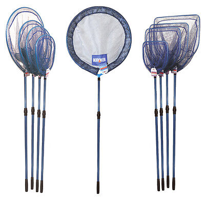 Bermuda Pond Net Heads With Extendable Telescopic Handle Koi Fish Catch Fishing