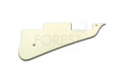Gibson Les Paul ® aftermarket pickguard ivory 1 ply ABS plastic