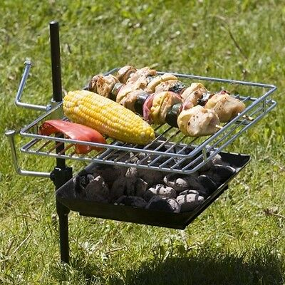 The Perfect CampfireGrill Rebel Grill,BBQ,wild camping 10 Inches by 12 Inches