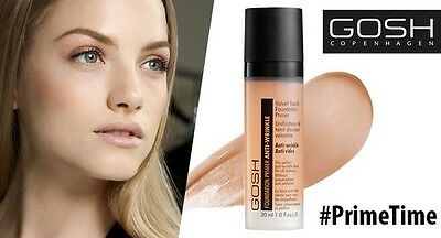 GOSH Velvet Touch Foundation Primer Anti Wrinkle Perfect Base for Make-Up 30 ml