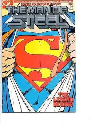 The Man Of Steel #1 Nm- 1986 Special Collectors Edition Variant John Byrne