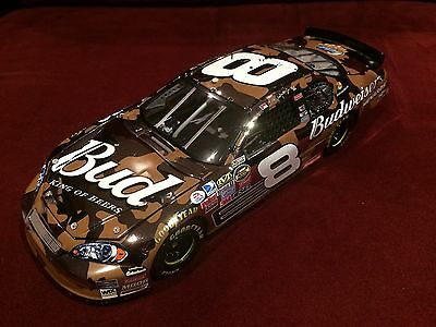 DALE EARNHARDT JR 2007 OWNERS ELITE WHITE GOLD 1:24 DIECAST #8 BUD CAMO 1 of 100