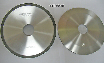 "Diamond Grinding Facing Wheel, 6"" Type 4A2, 180 Grit for Carbide Circle Saws"