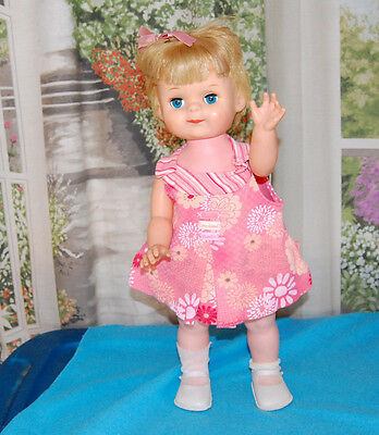 "Vintage 1966 American Character ~Rare 20"" SUZIE TWO STEPS Doll ~Sally Says Sis"