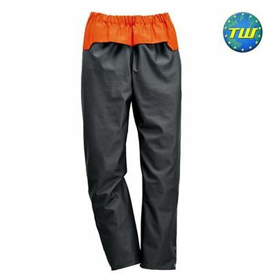 """Stihl Advance Wet Weather Outdoor Water Repellent Trouser Size XL 38-47""""W 31.5""""L"""