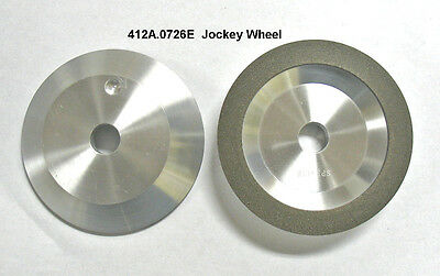 "Diamond Grinding Jockey Wheel, 4"" Type12A2, 100 Grit, for Large Circle Saws"