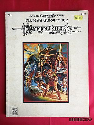 AD&D 2nd PLAYERS GUIDE TO THE DRAGONLANCE Campaign Dungeons Dragons TSR 1993