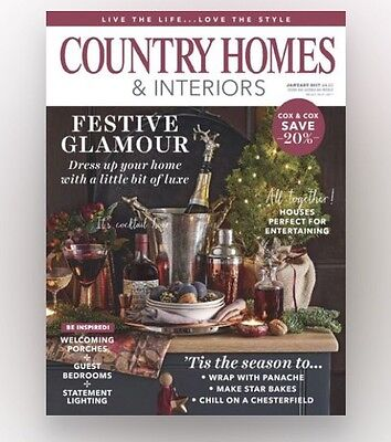 Country Homes & Interiors Magazine January 2017 (Brand New Copy)